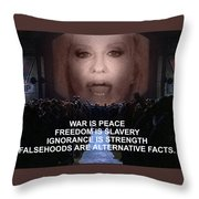 1984 Is Now Throw Pillow