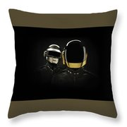 19863 Daft Punk Throw Pillow