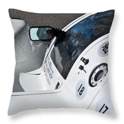 1987 Porsche 962c Throw Pillow