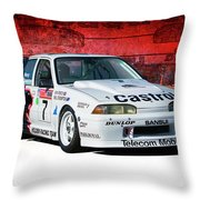 1989 Vl Commodore Walkinshaw Throw Pillow