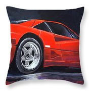1990 Ferrari F40  Throw Pillow