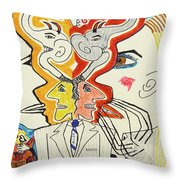 1991 - In Motion Throw Pillow