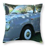 1991 Nissan Figaro Throw Pillow