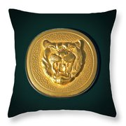 1994 Jaguar Xjs Emblem Throw Pillow