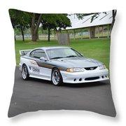 1995 Clarion Mustang Gt Herr Throw Pillow