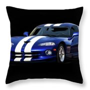 1995 Dodge Viper Coupe I Throw Pillow