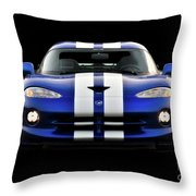 1995 Dodge Viper Coupe II Throw Pillow