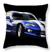 1995 Dodge Viper IIi Throw Pillow