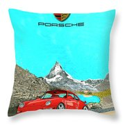 1997 Porsche 993 Twin Turbo R  Throw Pillow