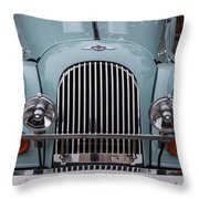 1998 Morgan Plus 8 Throw Pillow