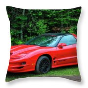 1998 Pontiac Firebird Trans Am Throw Pillow