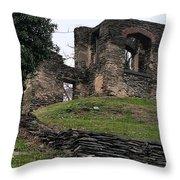 19th Century Church Foundation Throw Pillow