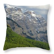 1m3625 Massive Ramparts Of Mt. Wilson Throw Pillow