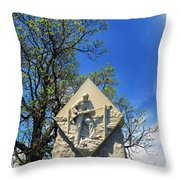 1st Massachusetts Infantry Throw Pillow
