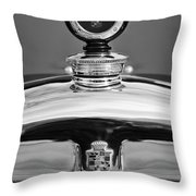 1926 Cadillac Series 314 Custom Hood Ornament Throw Pillow