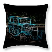 1931 Chevy Hot Rod  Throw Pillow