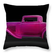 1932 Ford Hot Rod Throw Pillow