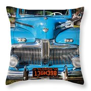 1942 Ford Super Deluxe Sedan Painted  Throw Pillow
