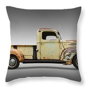 1946 Ford Pickup Truck Throw Pillow
