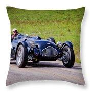1950 Allard J2 Roadster Throw Pillow