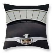 1958 Chrysler Imperial Emblem Throw Pillow