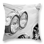 1959 Chevrolet Corvette Grille Throw Pillow