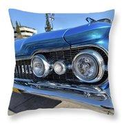 1959 Oldsmobile Dynamic 88 Throw Pillow
