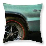 1966 Dodge Coronet 500 Throw Pillow
