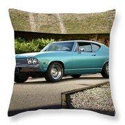 1968 Chevelle Malibu I Throw Pillow