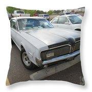 1968 Mercury Cougar Xr7 Throw Pillow