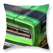 1969 Dodge Coronet Super Bee Throw Pillow
