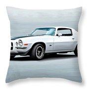 1970 Chevrolet Camaro Z28 Throw Pillow