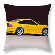 2001 Porsche 911 Turbo Throw Pillow
