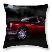 '57 T-bird Throw Pillow