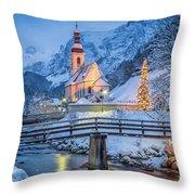 A Winter's Dream Throw Pillow