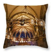 Abbey Of Saint - Remi Reims Throw Pillow