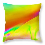 Abstract Colours. Throw Pillow