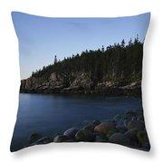 Acadia National Park Throw Pillow