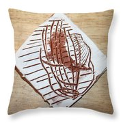 Adrift - Tile Throw Pillow