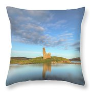 Ardvreck Castle - Scotland Throw Pillow
