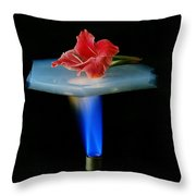 Aerogel, Synthetic Ultralight Material Throw Pillow