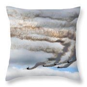Aerostars Yak-50 Display Team Throw Pillow