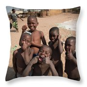Africa's Children Throw Pillow