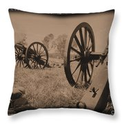 After The Battle Throw Pillow