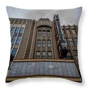 Alabama Theater Throw Pillow