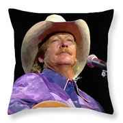 Alan Jackson Throw Pillow