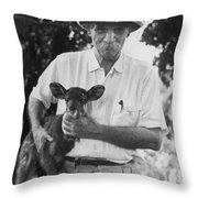 Albert Schweitzer Throw Pillow