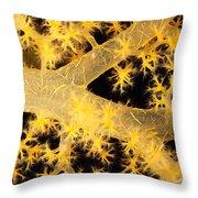 Alcyonarian Coral Throw Pillow