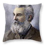 Alexander Graham Bell Throw Pillow