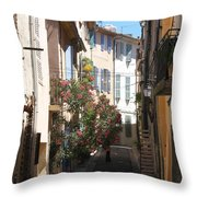 Alley - Provence Throw Pillow